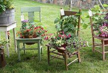 A Garden of Antiques