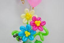Balloon flower theme