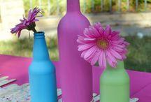 Floral theme party