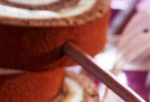 roulé chocolat poires