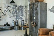 Industrial loft home