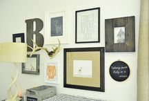 Gallery Wall Inspiration  / by Fionnuala Darby Hudgens