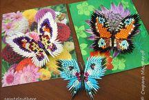 motyle origami