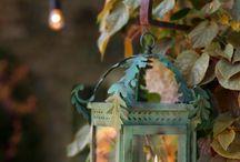 Lantern and lights