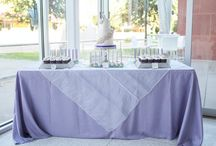 Purple Wedding / Purple wedding ceremony and reception ideas and details from real Clayton on the Park weddings. Modern Scottsdale wedding venue in the heart of Downtown Scottsdale. #wedding #color #purple #details #ideas #planning #decor #modern