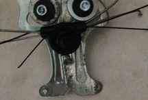 Gli amici dagli occhi grandi !!!!! / #Riciclo #bicicletta #ciclo #bike #riclycling #robot #cyclo