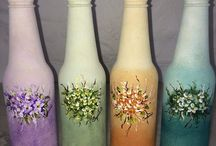 art bottle paint