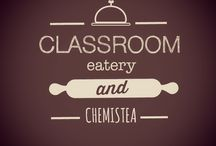 The Classrom Cafe & Lounge / The good place that you can eat, hanging out, and study in Bandung....