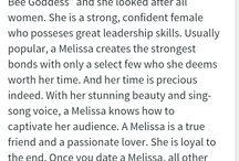 Pure Melissa power