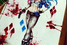 Tattoo,Harley Quinn