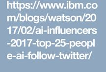 Top 30 AI Influencer / Listed by IBM Watson in the Top 30 AI Influencers Globally