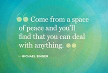Michael Singer / MICHAEL A. SINGER is the author of the New York Times #1 bestseller The Untethered Soul. He had a deep inner awakening in 1971 while working on his doctorate in economics and went into seclusion to focus on yoga and meditation.