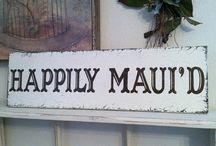 Maui Weddings Happily Maui'd / Beautiful Wedding Flowers, Hawaiian Wedding Ideas, Ideas for Beach Weddings, Destination Maui Weddings