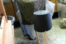 håndklæder i beton