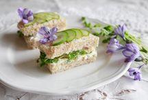 Sandwich Recipes A'noon Teas