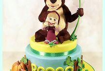 cake Miša a Maša