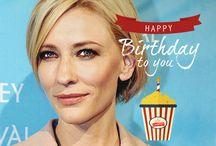 Celebrities Birthday / Happy Birthday to the Hollywood Stars