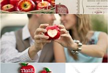 The Apple of my eye... / Clean, Crisp, Fresh, & Fun is what an Apple Orchard Wedding says to me!!!