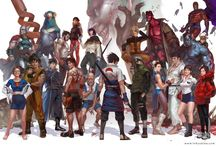 Game stuff / there are a few gaming characters that I think look pretty cool / by Adam Klar