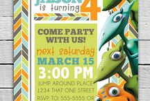 Birthday Invitations - Male