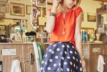 How to Wear: Polka Dots / Polka dots are shockingly versatile—not only can they go from workwear to weekend, but from playful preppy styles to edgier ensembles. Share which looks you love with your Stylist by pinning your faves below.  / by Stitch Fix