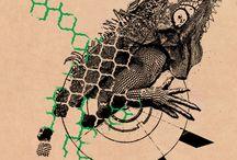 tattoo iguana
