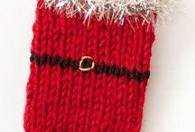 Christmas knitting