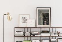 Bookshelves + Storage