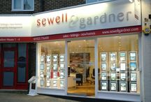 The Sewell & Gardner Offices / Are the place to work if you want fun, interest and colleagues who are dedicated, professional and really friendly.