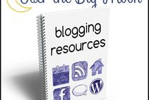 Blogging Resources / by Pam from Over the Big Moon
