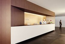 Reception Desk / interior design inspiration