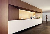 Reception Desk / interior design inspiration