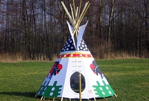 Home made Indian Teepees
