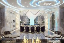 Дизайн интерьера особняка в Подмосковье / Огромное внимание в дизайне интерьера особняка в Подмосковье уделено искусственному освещению. Источник света присутствует почти в любом уголке жилье, Осветительные приборы придают интерьеру комнат особенную динамику. Большая гостиная и остальные комнаты выполнены в современном стиле. Интерьер особняка получился не только красивым, но комфортабельным.