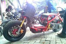Ruckus vario project / we build from Honda vario 150cc