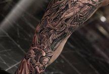 New tattoo left hand side