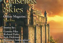 Book & Magazine Art / Covers and story artwork from books and magazines in which my fiction has been included