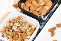 Homemade Healthy Snacks / Snack ideas that you can make at home that are good for you.
