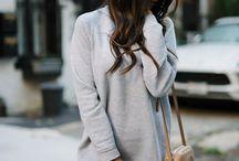 sweatshirt / tshirt dress