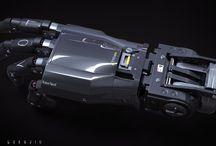 robotic hand concept