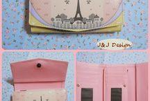 Dompet Motif Paris