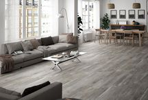 Kyron / A 8x67 wood-look, porcelain tile that is flexible and self-leveling. These tiles can be installed using traditional methods or simply dry lay the tiles without setting materials or joints.