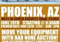 Top 5 Items in Phoenix - Bar None Auction / Images of the top 5 heavy equipment, commercial truck, construction and industrial tool items to be auctioned by Bar None Auction in Phoenix, Arizona.