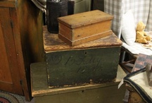 Boxes, trunk and blanket chests / by Kathy Detwiler Harris