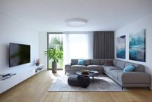 Inšpirácia - Obývacia izba