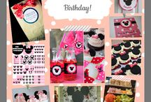 Minnie Mouse bday party  / by Olivia Laird