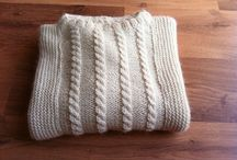 Hand made tricot / Tricots réalisés
