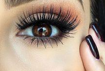 Ojos pestañas