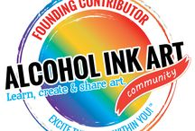 Alcohol Ink Art Community Contributors / This board features the contributors for the Alcohol Ink Art Community.