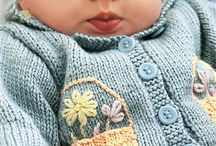 Baby knits / Scrummy baby clothes
